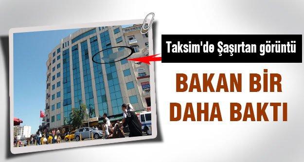 Taksim'de şaşırtan görüntü!