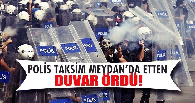 Taksimde yoğun güvenlik önlemleri!