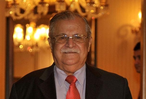 Talabani tedavi için Almanya'da