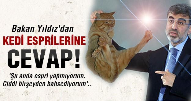 Taner Yıldız'dan kedi esprilerine flaş açıklama!