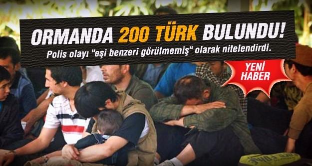Tayland'da ormanda 200 Türk mülteci bulundu