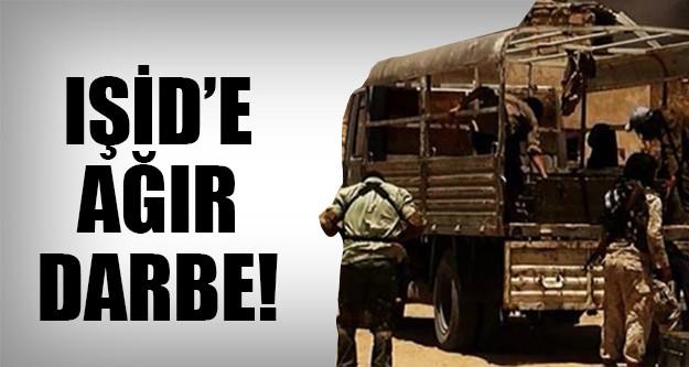 Telafer'de hava saldırısında 70 IŞİD'li..