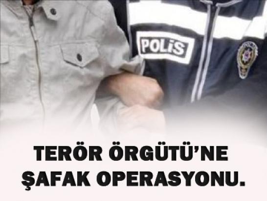 Terör örgütüne operasyon!