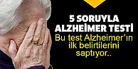 15 dakikada Alzheimer testi!