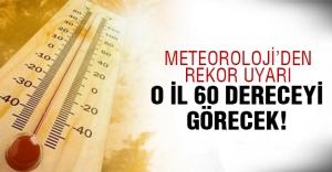 Meteoroloji'den en sıcak gün uyarısı!