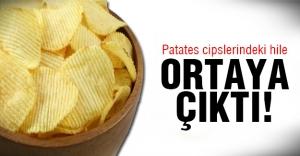 Patates cipsleri meğerse..