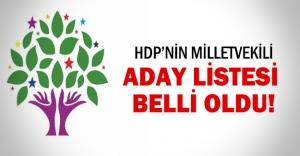 HDP listesinde büyük sürpriz!