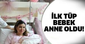 Türkiye'de doğan ilk tüp bebekti!
