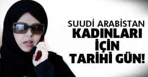 Suudi kadınlar ilk kez..