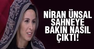 Niran Ünsal dediğini yaptı!