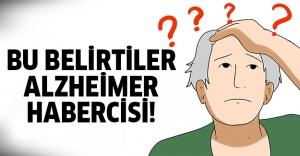 Alzheimer hastalığının 10 belirtisi!