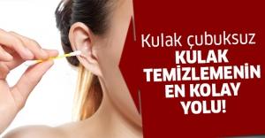 Kulak temizlemenin bu yöntemini kimse bilmiyor!