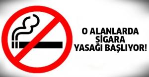 Oralarda sigara içenler yandı!