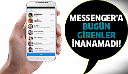Messenger'da flaş yenilik!