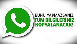Whatsapp'ı hemen silin çünkü..
