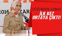 Sümeyye Erdoğan'dan sürpriz...