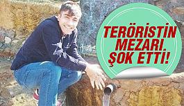 Teröristin mezarı açılınca..