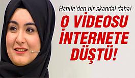 Hanife'nin şok eden videosu internete...