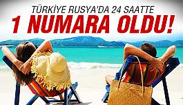 Rusya'da Türkiye coşkusu!