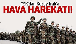 TSK Gara bölgesindeki PKK hedeflerini imha etti!