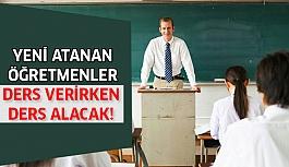 Atanan Öğretmenlere Ders Dışı Eğitim!