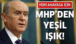Bahçeli'den yeni anayasa için açıklama!