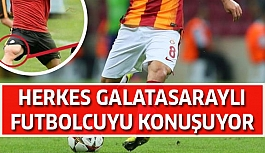 Galatasaraylı futbolcu sosyal medyada şov yaptı!