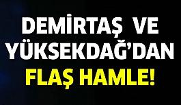 Selahattin Demirtaş ve Figen Yüksekdağ'dan Flaş Hamle!