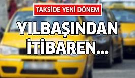 Taksici şoförlere belge şartı!