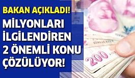 Bakan Müezzinoğlu'ndan emekli ve asgari ücret açıklaması