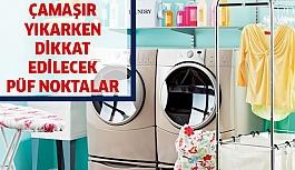 Çamaşır yıkarken nelere dikkat etmeliyiz