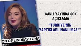 Lindsay Lohan'dan Türkiye ile ilgili çarpıcı açıklama