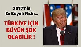 Trump Politikaları 2017'de Çok Büyük Risk
