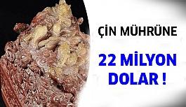 Ünlü Koleksiyonerden Çin mührüne 22 milyon dolar