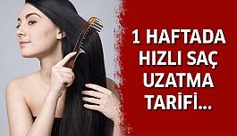 1 Haftada Nasıl Saç Uzatılır ?