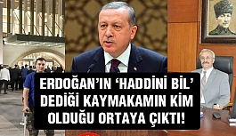 Erdoğan'ın Söz Ettiği O Kaymakam Ve Gazi...
