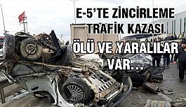 Zincirleme Trafik Kazası Ölü Ve Yaralılar Var