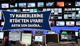 Artık Televizyon Haberlerinden Bu İfade Yasak! Yayın Yasakları Genişletildi...