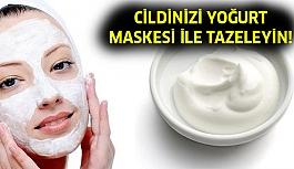 Cildinizi Yoğurt Maskesi İle Yenileyin