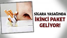 Sigara Yasağında İkinci Paket Geliyor !