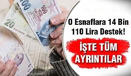Zorda Olan Esnafa 14 Bin 110 Lira!