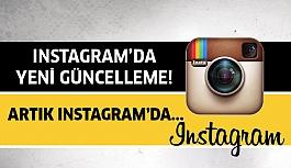 Instagram'da artık...