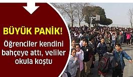 Okulda Büyük Panik! Öğrenciler gözyaşlarına boğuldu