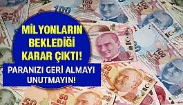 Paranızı Almayı Unutmayın!