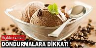 Açıkta satılan dondurmalar sağlıksız mı?