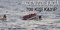 Akdeniz'de büyük facia!