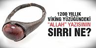 Allah yazılı yüzüğün...