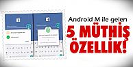 Android M'i dün tanıttı!