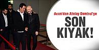 Atalay Demirci'yi yalnız bırakmadı!