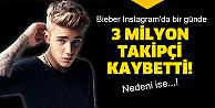 Bieber'e Instagram şoku!